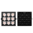 Wholesale indoor home shop office aluminum body 5w 9w 12w 15w 25w 30w square led grille down light
