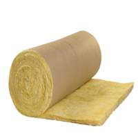 kraft paper facing glass wool fiberglass insulation with kraft