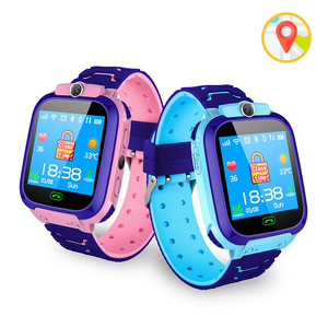 Hot sell S9 Waterproof Smart Watch Kids GPS Locator Tracker Reloj inteligente para los ninios Dial Call Children Watch