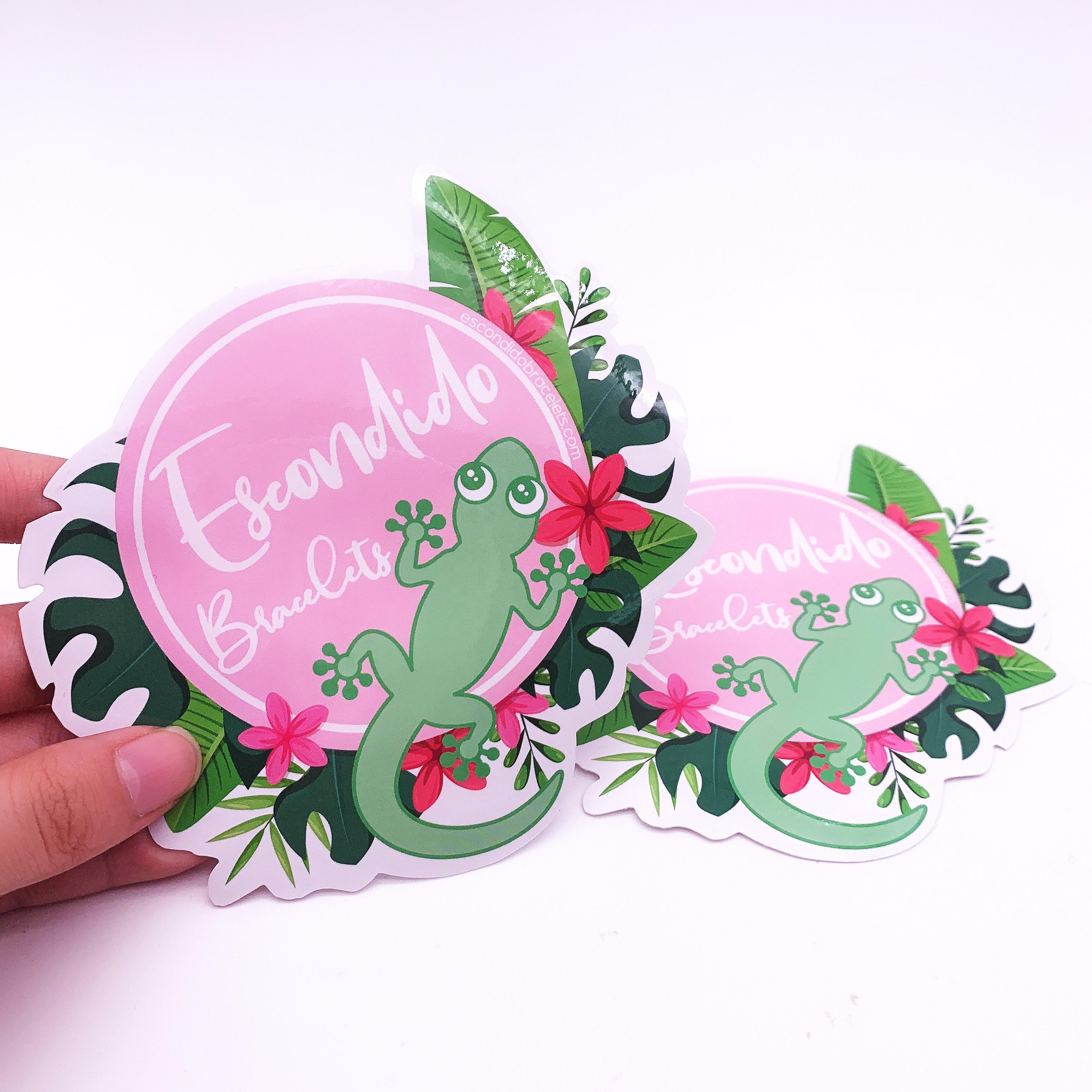 Custom Cute Mini Kawaii Cartoon Logo Individual Stickers ...