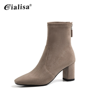 Fashion native shoes women high heel boots casual