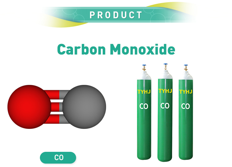 Industrial carbon monoxide CO gas cylinder price carbon monoxide cylinder