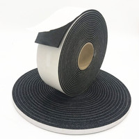 "Adhesive sponge rubber insulation foam tape 1/2"" *3/16""* 50ft"
