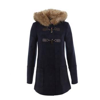 Custom Womens Textured Duffle Coat Ladies Quilted Winter Coat Wholesale Buy Ladies Quilted Winter Coat Men Wholesale Winter Coat Petite Winter Coats