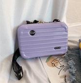 Новые роскошные ручные сумки для женщин, сумки в форме чемодана, модный персональный миниатюрный чемодан, женский клатч от известного бренд...(Китай)