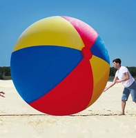 200cm big pvc inflatable giant beach ball