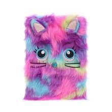 Мультяшный Кот панда пушистый дневник девушки Журнал Блокнот записная книжка Кот/панда Дизайн Пушистый милый подарок на день рождения(Китай)