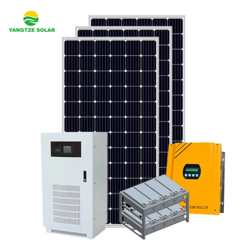 Yangtze 10 years warranty 20KW off grid power system solar energy products manufacturers