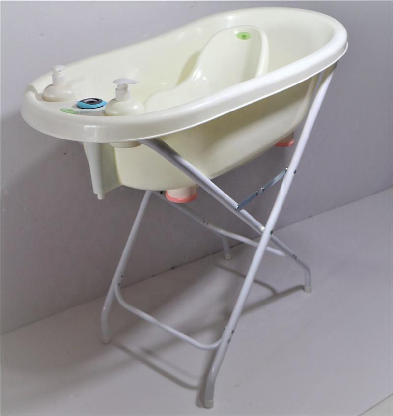 Stable Newborn Baby Bather Bath Tub High Stand