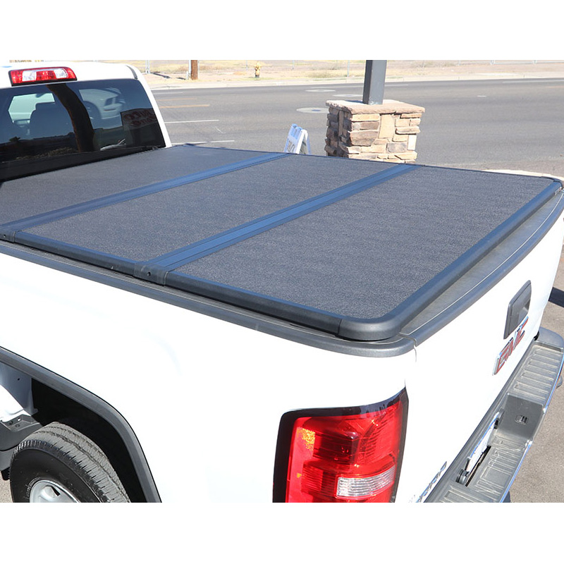 Hard Folding Tri Fold Four Fold Tonneau Covers For Truck Accessories Hard Pickup Bed Covers Tonneau Covers Buy Tonneau Cover Hard Pickup Cover Bed Covers Product On Alibaba Com