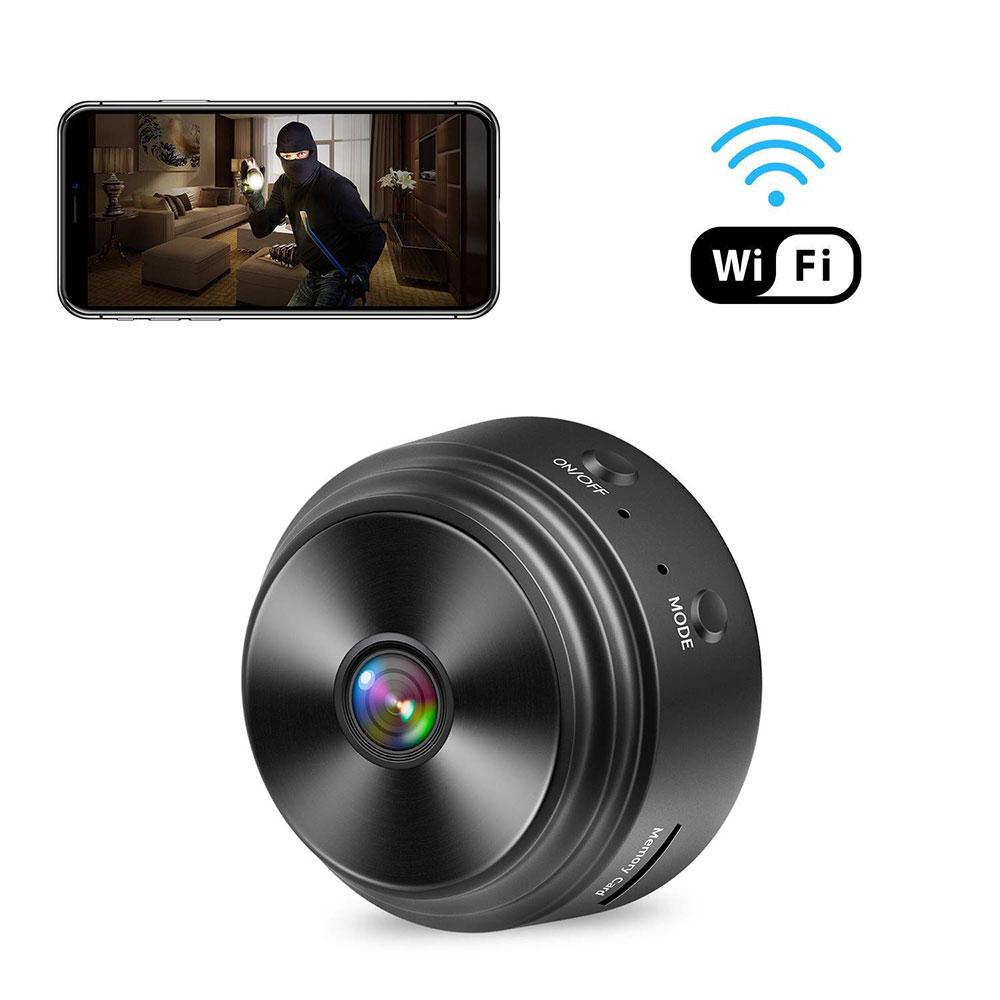 Smar — Mini caméra de surveillance IP Wifi HD 1080P, dispositif de sécurité domestique sans fil, Micro caméra espion, avec Vision nocturne, magnétique, CCTV, A9