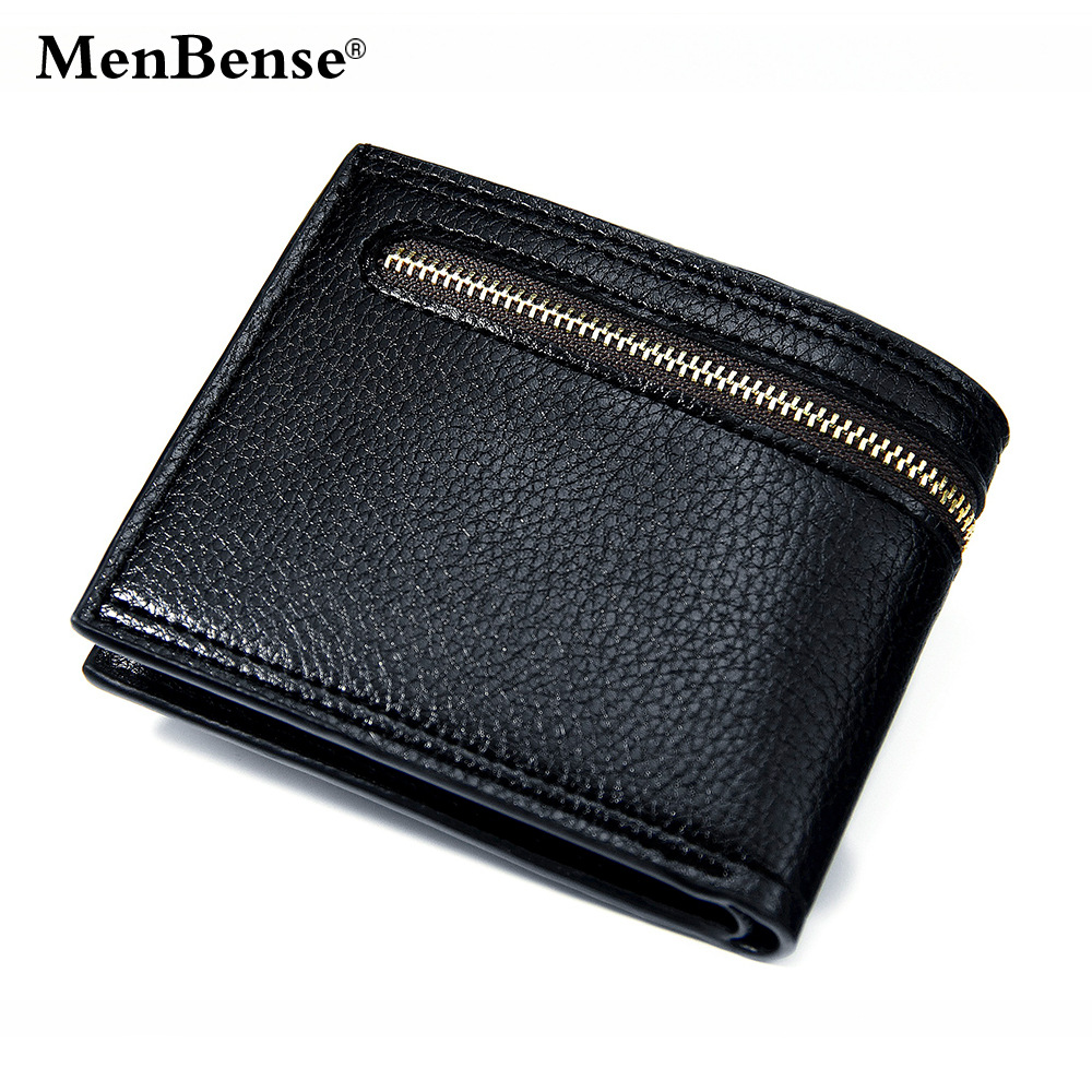 Men's casual fashion short wallet multi-functional large capacity men's short Wallet