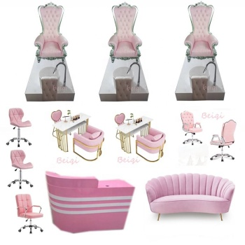 Top Selling Luxury Pedicure Chairs Used Nail Salon Equipment Queen Pedicure Spa Chair