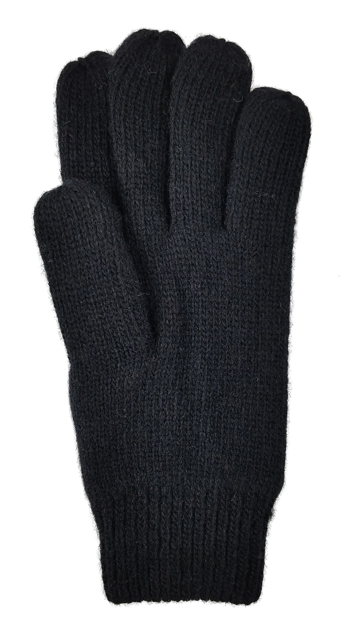 Women Winter Warm Wool Knitted Glove with Thinsulate Lining and Elastic Rib Cuff Working Cycling Cold Weather Gloves