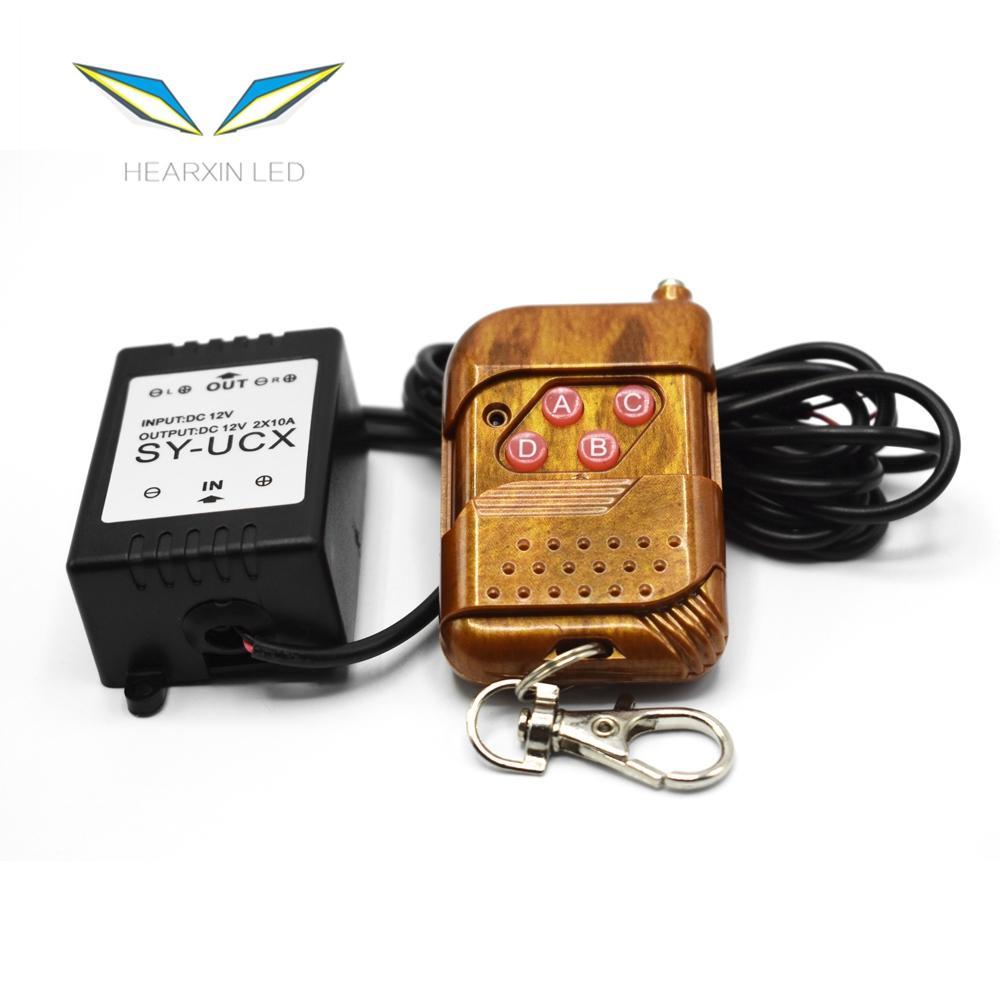 12V Wireless Remote Control Module W/Strobe Flash stroboscopes For Car Auto Vehicle Trucks Bulbs Light LED Strips