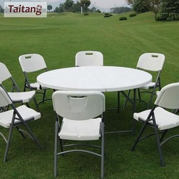 Top Sales Newest Round White Plastic Folding Table And Chairs Buy Folding Table And Chairs White Plastic Folding Table And Chairs Round White Plastic Folding Table And Chairs Product On Alibaba Com