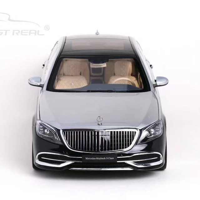 AR Almost Real S650 1:18 Luxury Limousine Diecast Model Car Vehicle Model For Collection And Gift