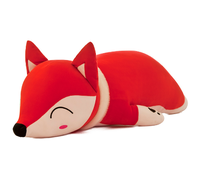 35cm Kawaii Dolls Stuffed Animals & Plush Toys for Girls Children Boys Cute Fox With Scarf