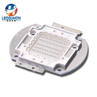 Factory 50W green cob led with epileds 40mil chip packaging(Z1C type frame)