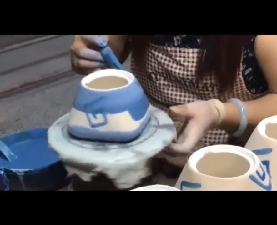 150ml הסיני רטרו בעבודת יד אקראי מרקם צבע זיגוג ירי בטמפרטורה גבוהה קרמיקה ספל תה פורצלן תה כוסות ספל