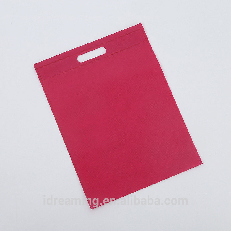 Wholesale Promotional Shopping Die-cut Non Woven Bag