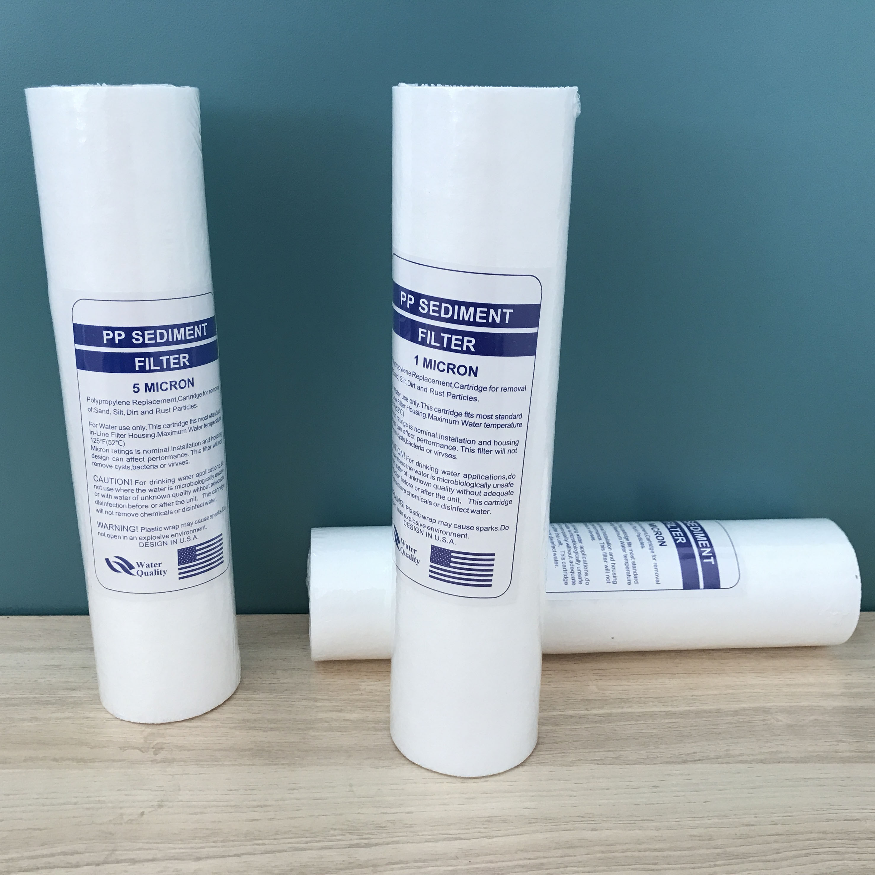 pp water filter cartridge 10inch 5 micron sediment filter