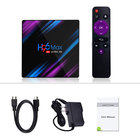 H96 Max cheapest Android 9.0 TV BOX Dual wifi with BT H96 max R3318 2g16g 4g32g 4g64g Led dipaly Set Top Box