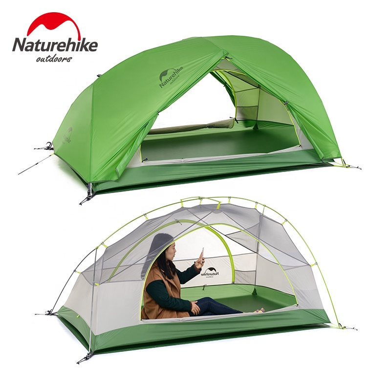 Naturehike Nature Hike Updated Star-river Upgraded 20D Nylon Ultralight Camping 2 Men Tents