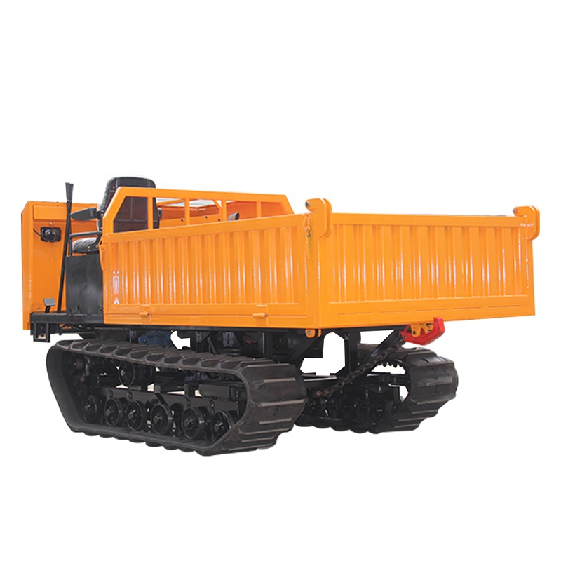 Crawler ยก Dumper/Crawler transporter/Track Carrier wirh Grapple Crane