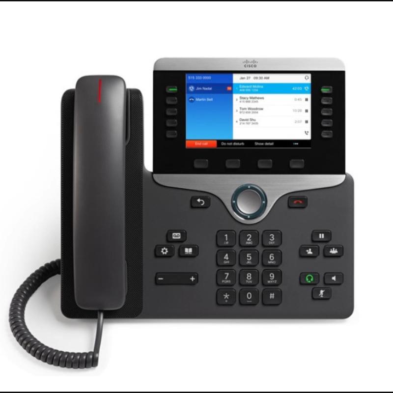 CP-8821-K9 Telepon Nirkabel Cisc O IP Baru