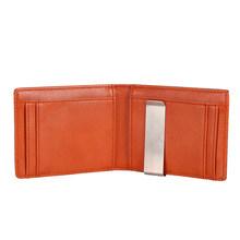 Мужской кошелек DIENQI, тонкий мини-кошелек из углеродистого волокна с клипсой для денег, металлический держатель для карт и денег(Китай)