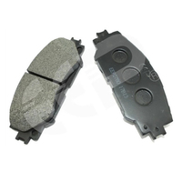 Brakes Traction Control Brake Pad For Toyota Corolla 2006 04465-02220 D2274