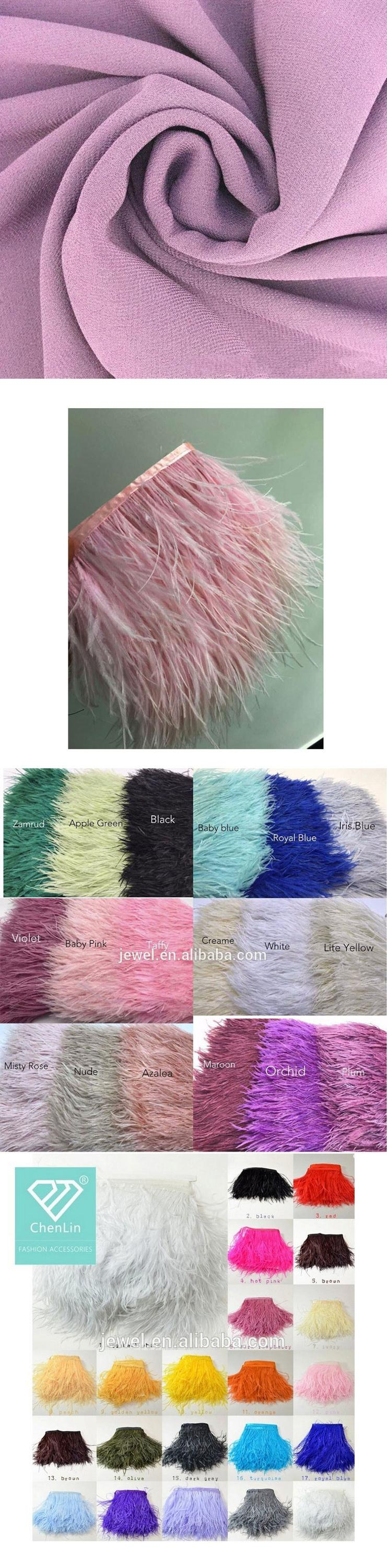 Fashion Customize Chiffon Hijab with Feather for muslim women Luxury Plain Color Feather Style scarf  Popular Design Scarves