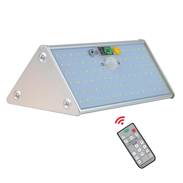 IP65 Waterproof Human Body Induction Sensor Outdoor Solar Powered LED Wall Light, Wall Mounted PIR Solar Sensor Wall Light
