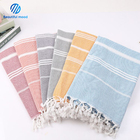 Large size 100% cotton turkish beach towel wholesale