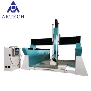 5 axis cnc router foam engraving machine price for sale