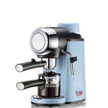 Кофе-машина для эспрессо Полуавтоматическая кофеварка капучино Moka чайник в молочном отваре 220В 50Гц Паровая кофеварка(Китай)
