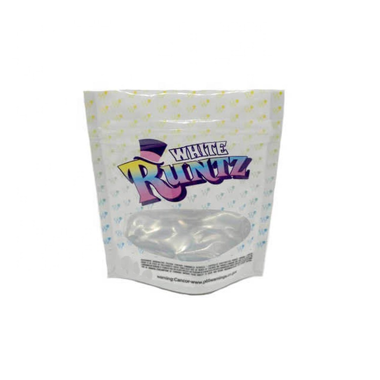 Custom Colorful Print Smell Proof Cookies Packaging Plastic Runtz Mylar Bags in Stock