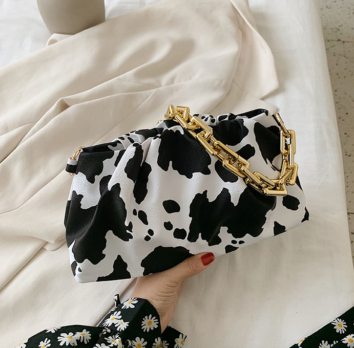 2020 Ins moda çanta yeni stil yaz moda hamur çanta hayvan baskı çanta kore crossbody çanta kadın sevimli kız çanta