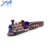 Hot sale amusement  fun electric tourist train battery powered train rides for kids