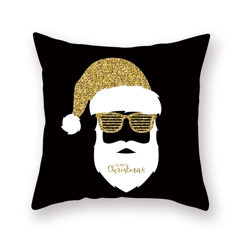 Christmas 3D Digital Print Blank  Pillow Case Lentejuelas Reversible Sublimation  Pillow Cover