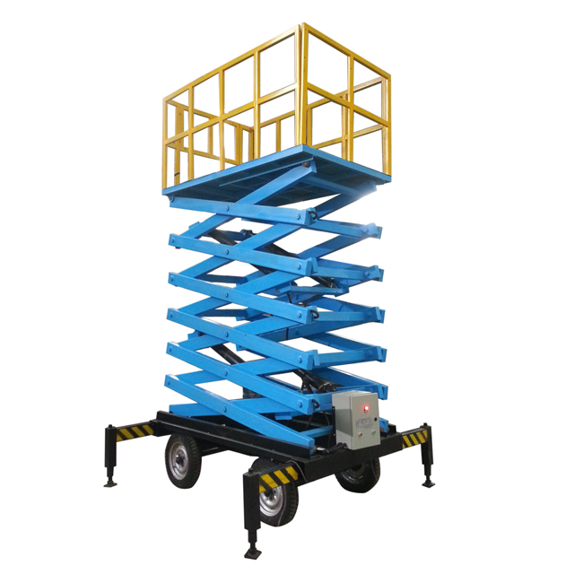 Zhongxiang Lift Machine Factory Adjust Scissor Crane Lift