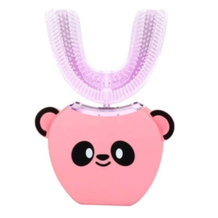 USB Rechargeable kids toothbrush electronic U Shape Toothbrush