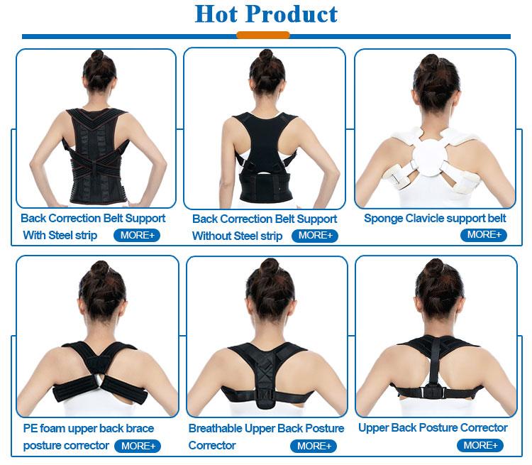 Médico espalda hombro postura de la correa de corrección de la clavícula Correa soporte para niños para el dolor de espalda