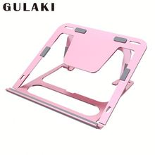 Vented Tray Laptop Stand Hopfr <span class=keywords><strong>Komputer</strong></span> Berdiri Adjustable