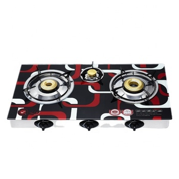 Table Cooktop 3 gas cooker burner Gas hob