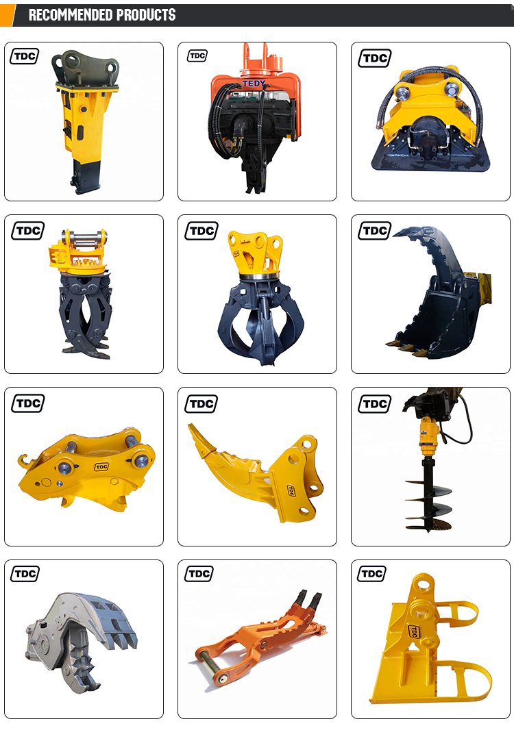 China factory selling 4-5.5Ton quick coupler tilt rotating quick hitch excavator