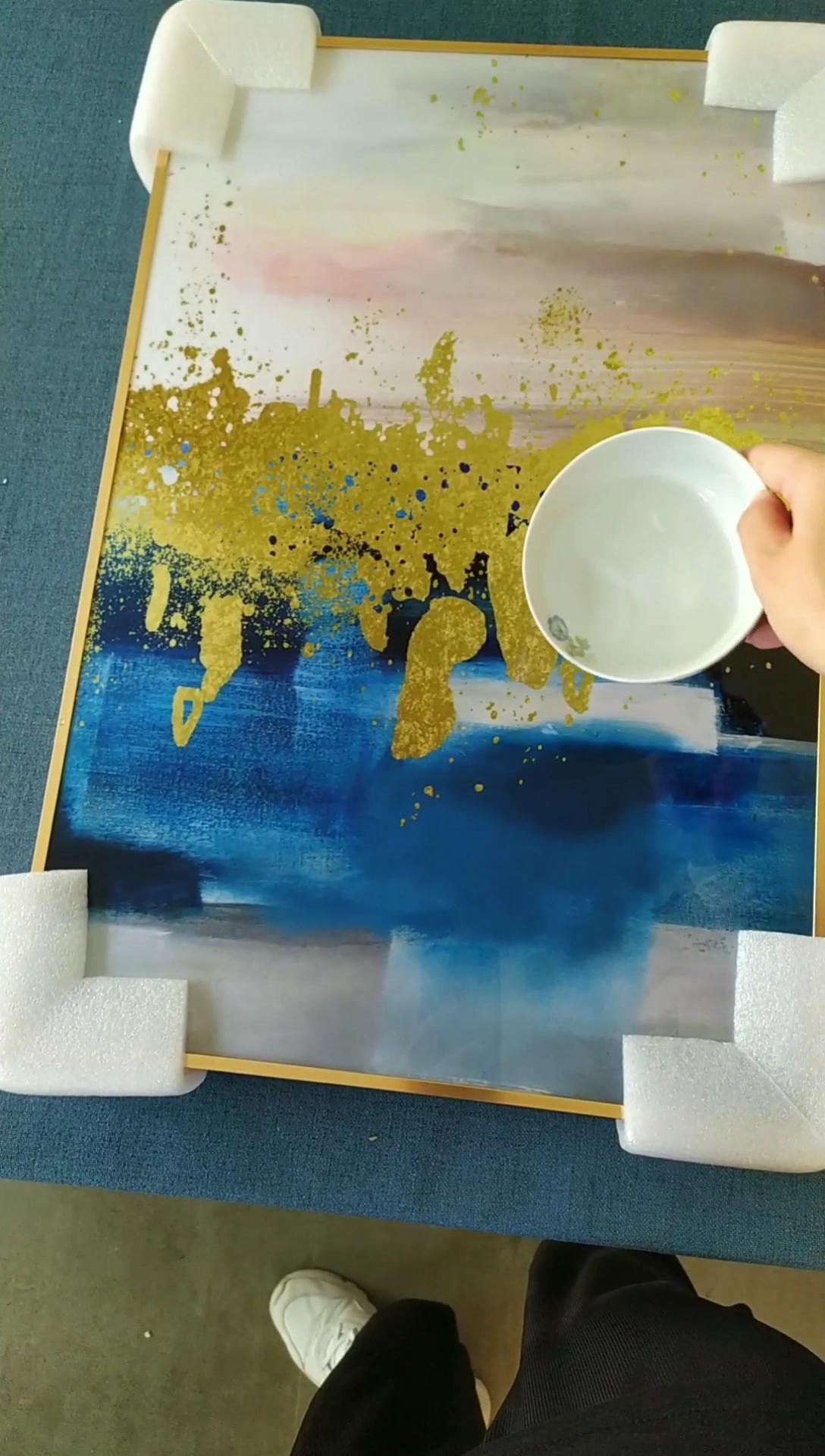 Tela Senza Cornice Fai Da Te dipinta A mano della pittura a Olio di Colore