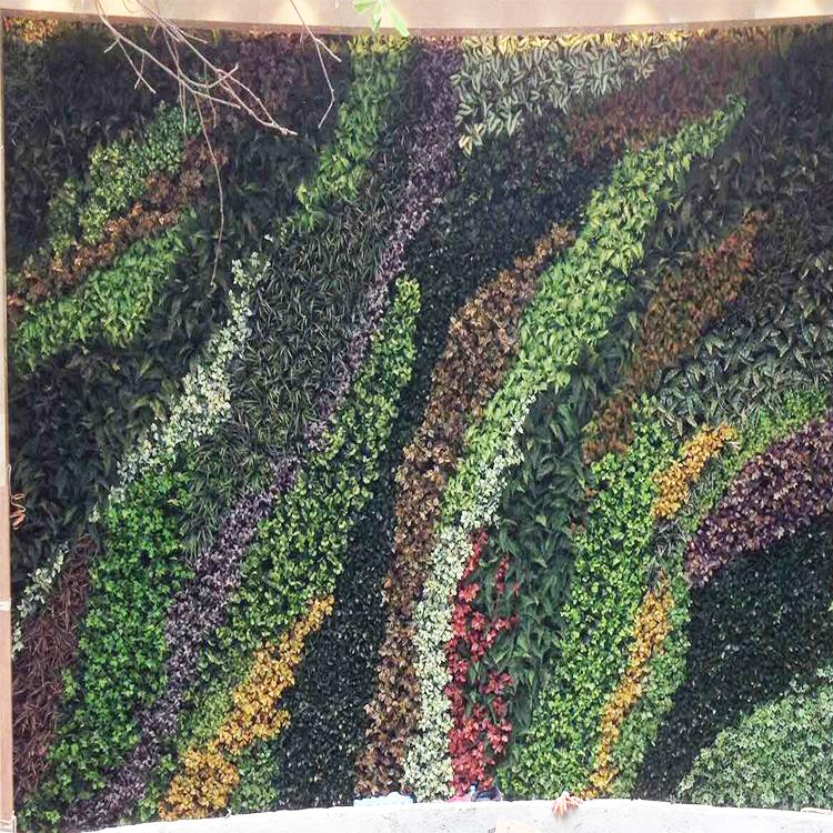 Garden Plastic Grass Artificial Plant, Artificial  Outdoor Plant Wall