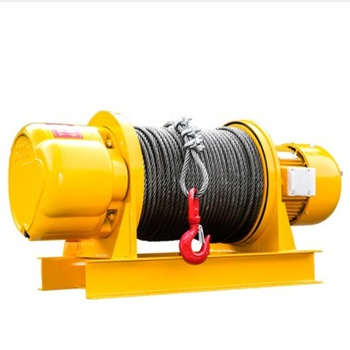 Single rope and double rope automatic winch